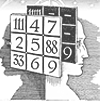 Психоматрица равным образом степень Пифагора